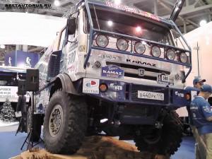 КАМАЗ-4326 с смещённой назад кабиной