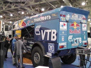 КАМАЗ-4911 rear