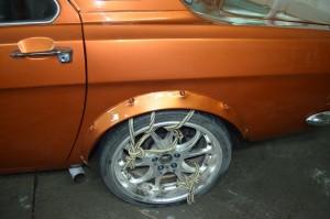 """Под колёса 19"""" пришлось и арки доработать."""