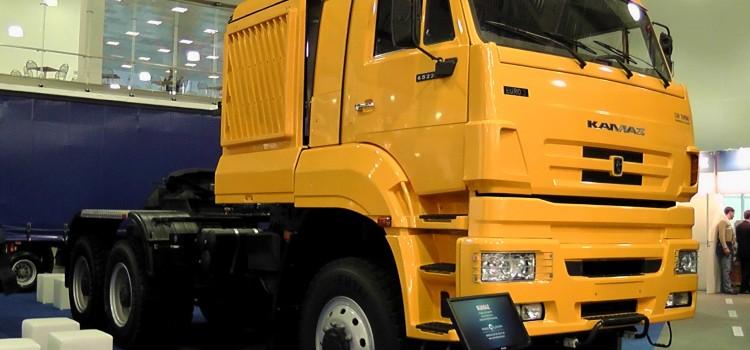 КАМАЗ — 65226 6х6 Могучий тягач специального назначения.