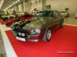 Shelby GT500 1967 Eleanor left-front