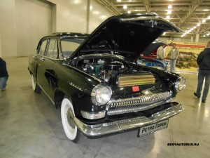 ГАЗ-21 V8 front