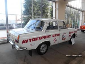 Москвич АЗЛК-412 ралли rear