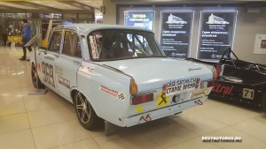 Москвич ИЖ-412 ралли rear