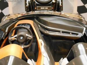 BMW 328 Hommage dashboard