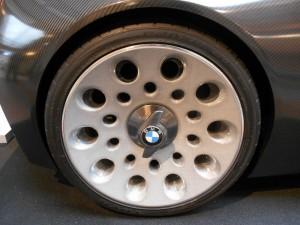 BMW 328 Hommage rearwheel