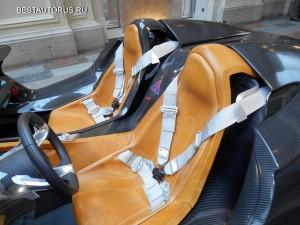 BMW 328 Hommage seats