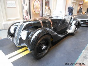 BMW 328 frontview