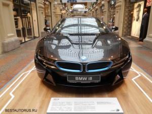 BMW i8 face