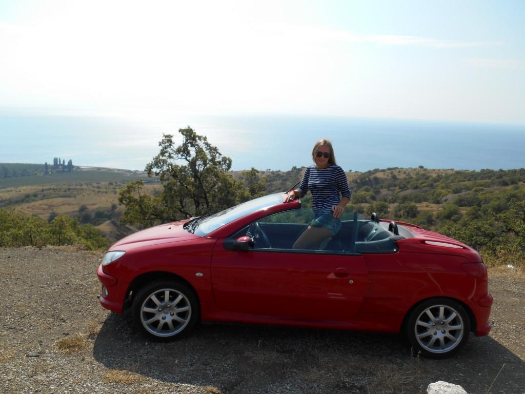 Peugeot in Crimea