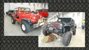 Jeep'ы на выставке «Tuning Show 2016».