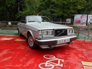 Редкие модели Volvo на выставке «Retro Fest» в Сокольниках.