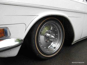 Довольно интересные колёса на этой 24-ке!