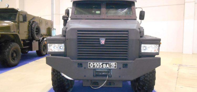 Специальное транспортное средство «Патруль».