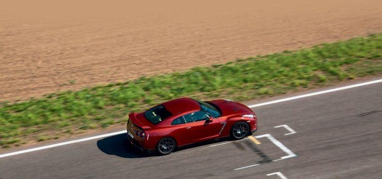 Обновлённый Nissan GT-R