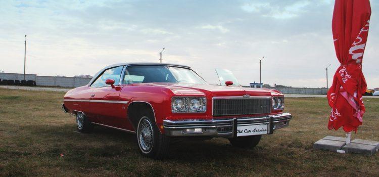 Chevrolet Impala Convertible 1973 года.