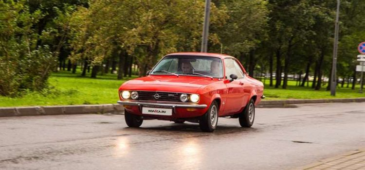 Opel Manta A 1970 года.