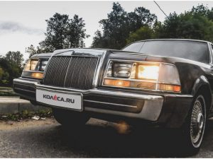 Lincoln Continental 1984 с дизельным двигателем.
