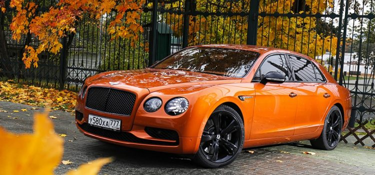 Bentley Flying Spur W12 S. Аристократ.