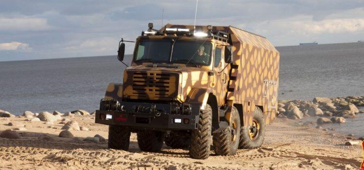 ЗИЛ-4972 «Штабной» – «Караван» от КБ Смирнова.
