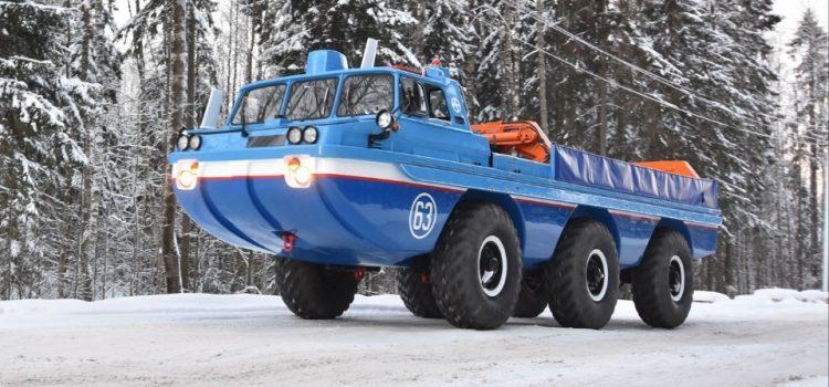 ЗИЛ-4906 «Синяя птица» – «Европа-Америка 500»