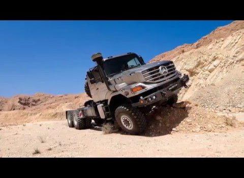 Mercedes-Benz Zetros 2733A (6х6) 48