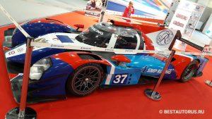 Гоночный болид SMP Racing BR 01 класса LMP2