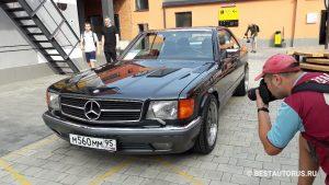 W126 560 SEC 1989 года. V8 5.5l 296hp