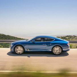 Тест-драйв Bentley Continental GT.