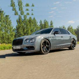 Bentley Flying Spur V8 S Black Edition — оттенки «Черного»