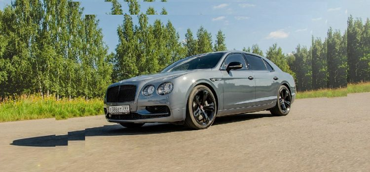 Bentley Flying Spur V8 S Black Edition — оттенки «Черного»