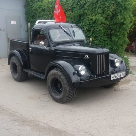 Custom-пикап на основе ГАЗ-69
