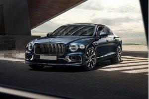 Премьера нового Bentley Flying Spur в Москве