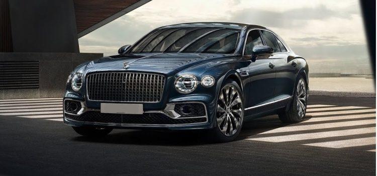 Премьера нового Bentley Flying Spur в Москве/