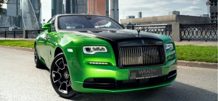 Огни ночной Москвы: Rolls-Royce представил эксклюзивную коллекцию!