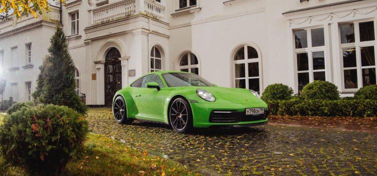 Новый Porsche 911 Turbo S.