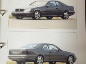 Очень редкий Mercedes-Benz CL600 7.0 AMG Special Edition из Москвы.
