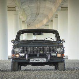 «Волга» ГАЗ-24 1983 года. V8