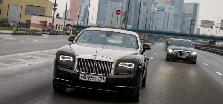 Тест Rolls Royce Wraith