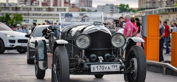 Bentley Speed Six 1929 года.