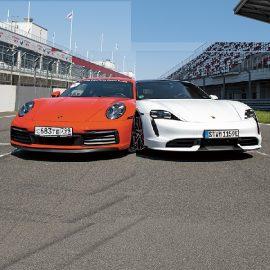Porsche Tayсan VS Porsсhe 911
