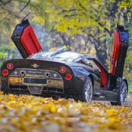 Обзор и тест-драйв Spyker C8 Aileron