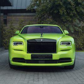 Rolls-Royce Wraith и Dawn из коллекции Neon Nights