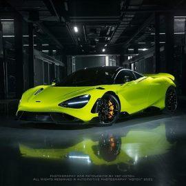 Первый и единственный в России McLaren 765 LT
